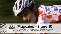 Magazine - 40th Anniversary of the Polka-Dot Jersey - Stage 10 (Tarbes > La Pierre-Saint-Martin) - Tour de France 2015