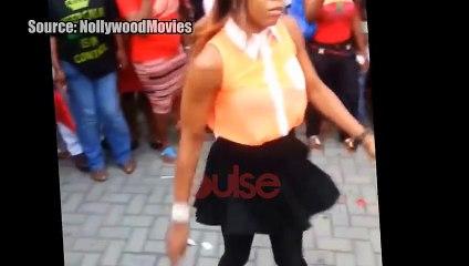Kaffy versus P square Dance off