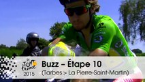 Buzz du jour / Buzz of the day - Étape 10 (Tarbes > La Pierre-Saint-Martin) - Tour de France 2015