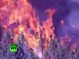Los bomberos comienzan a contener los grandes incendios forestales en EE. UU.