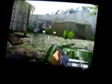 Call of Duty World at War DS Flamethrower gameplay