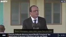 Quand François Hollande commence à chanter!