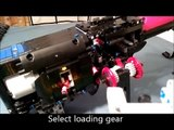 Lego Machine Gun with functioning ammo belt, the  LMG66 ( Lego Maschinen Gewehr -66 )