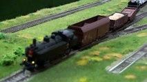 Výstava klubovních kolejišť - parní vlaky