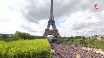 14-Juillet : un concert de Paris au pied de la tour Eiffel grandiose !