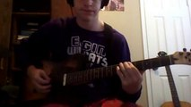 Knives And Pens by Black Veil Brides (intro)-Guitar Cover