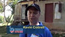 Kevin Cottrell From WMCA  New York, NY  Visits Jamaica With Food For The Poor
