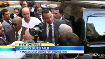 Yankees Slugger Alex Rodriguez Sues MLB, Selig For 'Witch Hunt' VIDEO A-Rod Suing MLB And Bud Selig