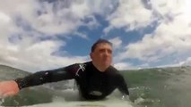 Baby Seal Surprises Surfers   Surf Seal of Approval