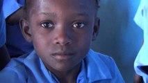 L'école Saint Mathias de 3 Roches, Plateau de Hinche, Haïti