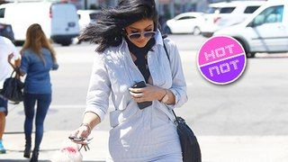 Kylie Jenner rocks thigh high heels heading to Kardashians s