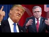 Donald Trump ties Jeb Bush: El Chapo escape boosts Trump to top the GOP candidates 2016  - TomoNews