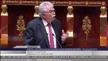 Le discours d'André Chassaigne contre le plan d'aide à la Grèce