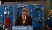 PM highlights new grant program / Le PM souligne le nouveau programme de subvention