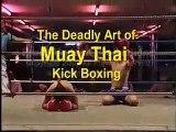 Thailand, Muay Thai Beer Bar Kick Boxing