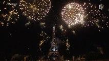 Le feu d'artifice du 14 juillet 2015 - France 2