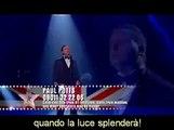 Paul Potts Interpretando Nessun Dorma (Italiano y español)