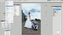 Photoshop Tutorials ~Color grading tutorial for wedding photography Adobe Photoshop tutorial