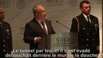 """""""El Chapo"""" : le gouvernement mexicain diffuse une vidéo de l'évasion et du tunnel"""