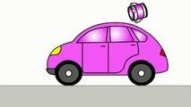 Smart Kids Learn Color Cartoons for Children 5: Coloured Cars [聪明的孩子创建具有