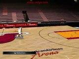 Dwyane Wade - Slam DUNKS practice freestyle NBA 2k11 PC GamePlay