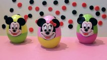 Mickey Mouse Surprise Egg Minnie Mouse Surprise Eggs Mickey Mouse Play Doh