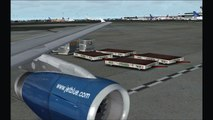 FS2004 - JetBlue Airbus A320 Lighting Demonstration