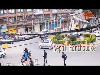 Shocking CCTV Footage of 7.9 Nepal Earthquake @ 7.9 Magnitude