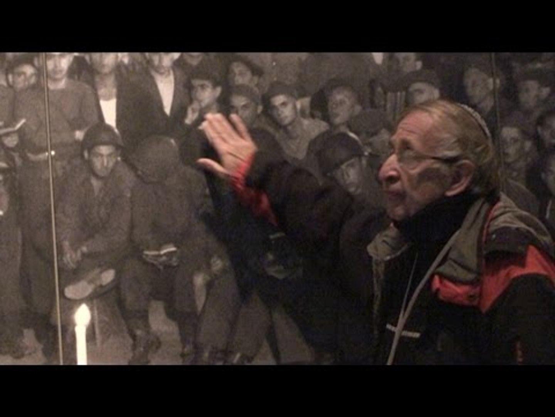 Shlomo Balsam le guide de Yad  Vashem