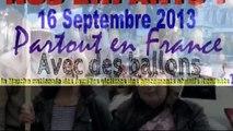 Marche Nationale des Familles Victimes des placements abusifs d'enfants 16 septembre 2013