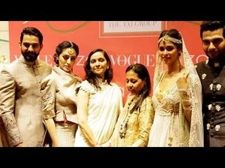 Anju Modi's Collection Showcase @ Vogue Wedding Show 2015