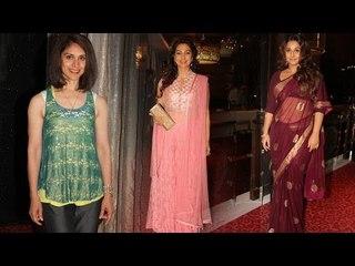Vidya Balan & Juhi Chawla Felecitated For Contribution To Indian Cinema