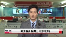 Kenyan mall reopens nearly two years after massacre