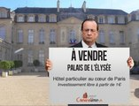 François Hollande vend l'Élysée ? - ZAPPING ACTU DU 15/07/2015