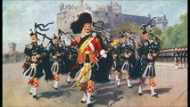 Massed bands of the Scottish Division - Highland Laddie and The Black Bear