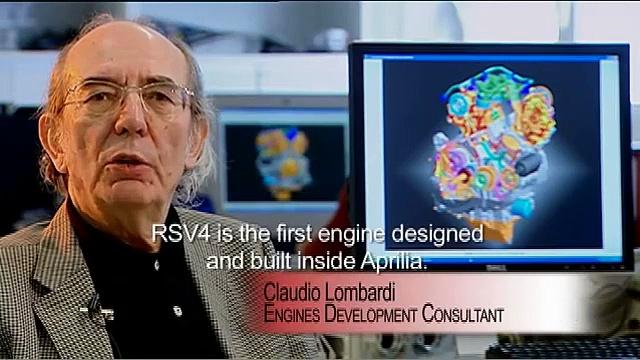 APRILIA RSV4 FACTORY – THE ENGINE