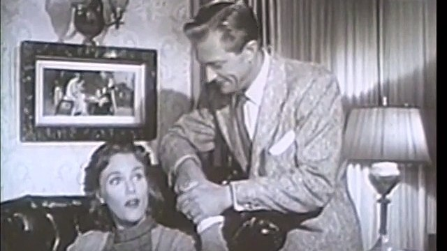 Mr. and Mrs. North:  House behind the Wall-Vintage TV