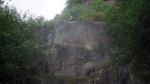 Hamoir - Attraction saut chute libre