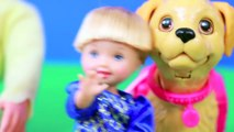 S3 E2 Poopy Puppy Dog Disney Frozen Kristoff & Anna Family Feed Pet Play-Doh Poo AllToyCollector