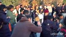 Flashmob Unicef France pour les droits de l'enfant 20/11/10