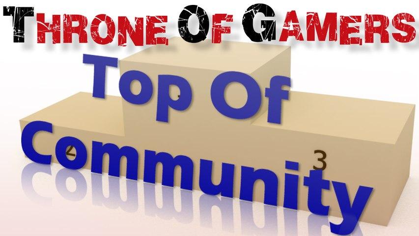TOP 10 Community : Vous avez voté pour vos youtubers préférés !