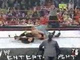 Matt Hardy & Jeff Hardy vs Brock Lesnar