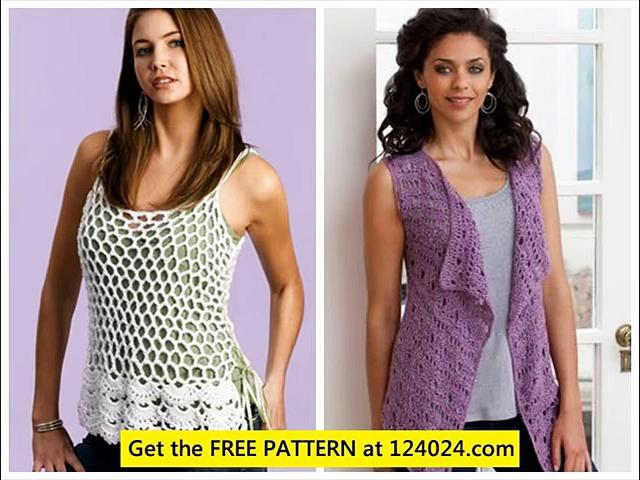 crochet circle vest pattern crochet baby vest pattern womens crochet vest – YouTube