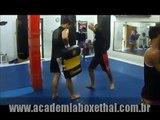 "Academia Boxe Thai - Treino Muay Thai - Prof. Carlos ""PQD"" Magno - turma mista"