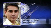 ATOM ARAULLO Brave Reporting on Typhoon Yolanda Commend by a CNN Anchor and Netizens