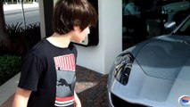 2012 Fisker Karma - 3 Top Gear Review by 11 year old Josh Asarnow - Jay Leno