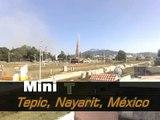 Dust Devil, remolino, mini tornado - Tepic Nayarit Mexico