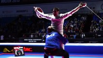 MOSCOW2015 Gauthier Grumier l'argent de Moscou Epee