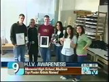 AIDS awareness posters - Contest &  youth HIV/AIDS education in high schools