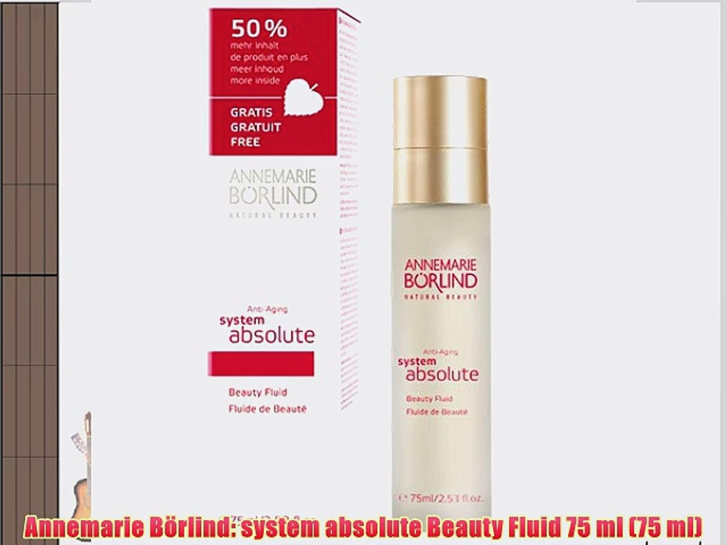 Annemarie B?rlind: system absolute Beauty Fluid 75 ml (75 ml)
